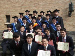 「修士課程社会人1年制コース終了」2014年(平成26年)