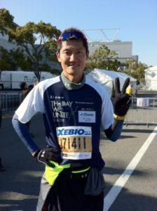 「競技引退後のライフワークはチャリティマラソン」2013年(平成25年)
