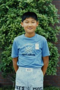 「小学校時代はサッカー少年」1982年(昭和57年)